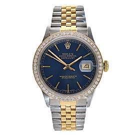 Rolex Datejust 16234 Stainless Steel and 18K Yellow Gold 36mm Mens Watch