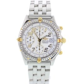 Breitling Chronomat B13050.1 18K Yellow Gold & Stainless Steel Automatic 39mm Mens Watch