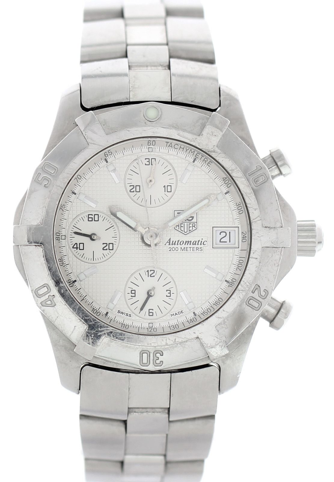 """Image of """"Tag Heuer 2000 Exclusive Cn2110.ba0361 Stainless Steel Automatic 40mm"""""""