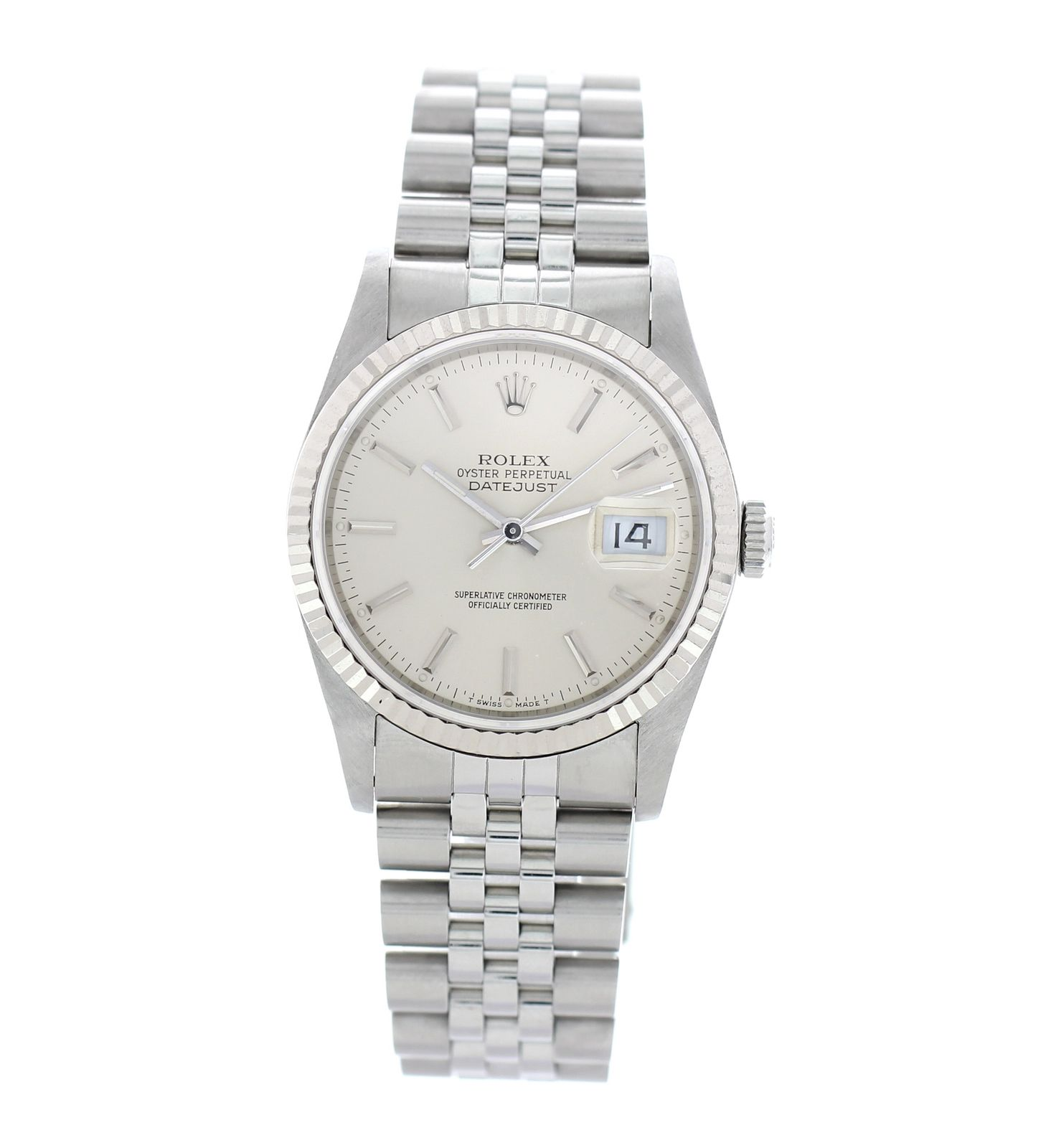 "Image of ""Rolex Oyster Perpetual Datejust 16234 Stainless Steel Automatic 36mm"""
