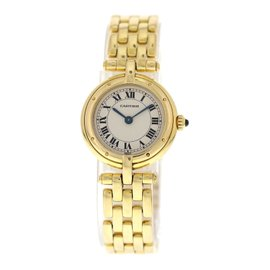 Cartier Panthere Vendome 18K Yellow Gold Quartz 24mm Womens Watch