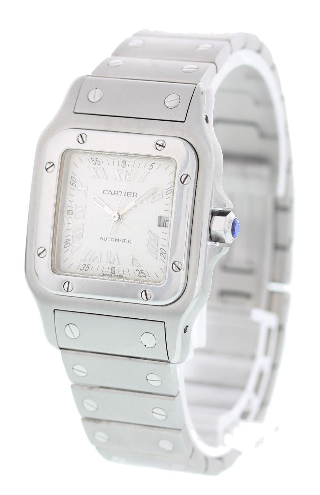 "Image of ""Cartier Santos Galbee 2319 Stainless Steel 30mm Unisex Watch"""