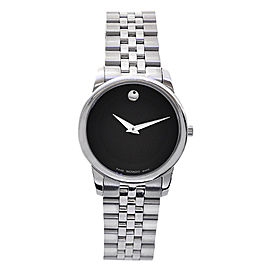 Movado Museum Classic 0606505 Stainless Steel Quartz 28mm Womens Watch