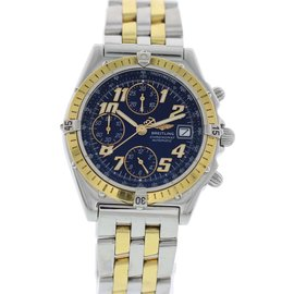 Breitling Chronomat D13050.1 18K Yellow Gold and Stainless Steel 39mm Mens Automatic Watch