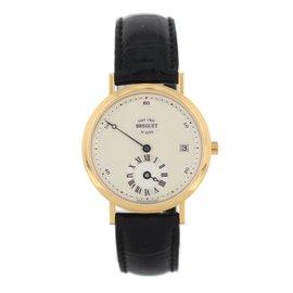 Breguet Classique 1747 18K Yellow Gold & Leather 36mm Mens Watch