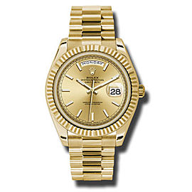 Rolex Day-Date Yellow Gold Champagne Dial 40 mm Watch