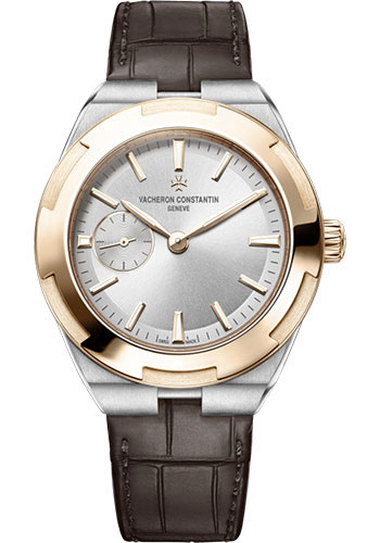 "Image of ""Vacheron Constantin Overseas 2300V/000M-B400 Stainless Steel & Leather"""