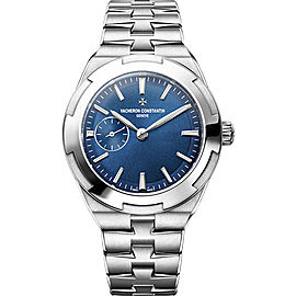 Vacheron Constantin Overseas 2300V/100A-B170 Stainless Steel with Blue Dial Automatic 37mm Womens Watch