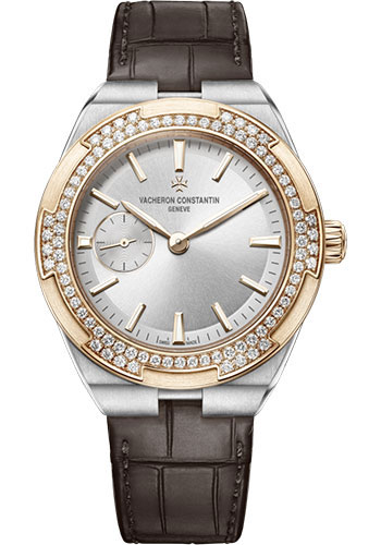"Image of ""Vacheron Constantin Overseas 2305V/000M-B400 Stainless Steel & Leather"""