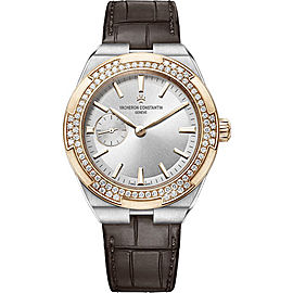 Vacheron Constantin Overseas 2305V/000M-B400 Stainless Steel & Leather Automatic 37mm Womens Watch