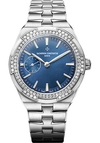 "Image of ""Vacheron Constantin Overseas Stainless Steel with Blue Lacquered Dial"""