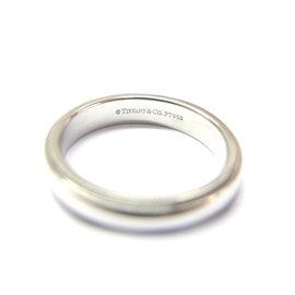 Tiffany & Co Platinum Mil-Grain Wedding Band Ring