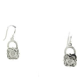 Philippe Charriol Diamond 18K White Gold Earrings