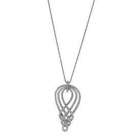 Damiani 18K White Gold Diamond Necklace
