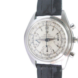 Rolex Chorongraph Rare Model 6034 36mm Mens Vintage Watch