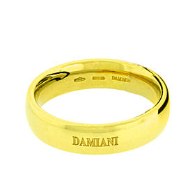 Damiani 18K Yellow Gold Ring