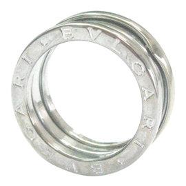 Bulgari B Zero 18K White Gold Band Ring