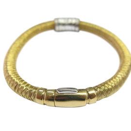 Roberto Coin 18K Yellow Gold & Diamond Woven Bar Bracelet