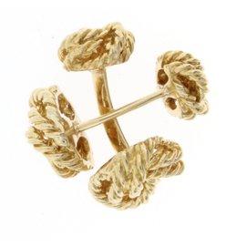 Tiffany & Co. Love Knot Cuff Links