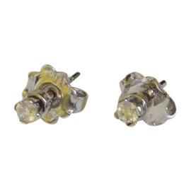 Bliss by Damiani 'Jacqueline' 18K White Gold Diamond Earrings