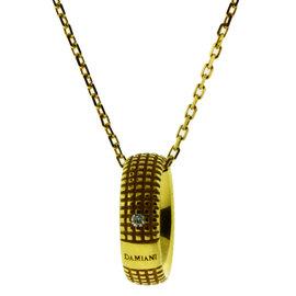 Damiani Metropolitan Dream Diamond 18 K Yellow Gold Necklace