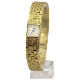 Piaget 1001 H5 18K Yellow Gold Dress Quartz Watch
