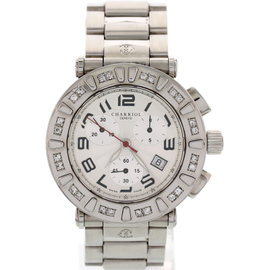 Philippe Charriol Colvmbvs CC38SS W/Diamonds Stainless Steel Mens Watch