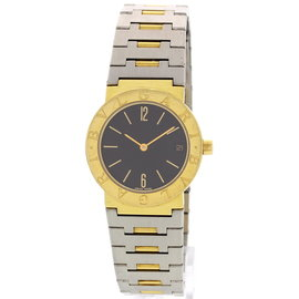 Bulgari Diagono 18K Yellow Gold & Stainless Steel Watch