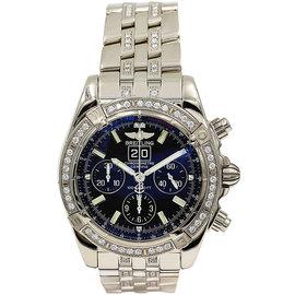 Breitling Windrider J44359 Blackbird 18K Gold/Diamond Watch