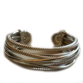 David Yurman Sterling Silver Cuff Bracelet