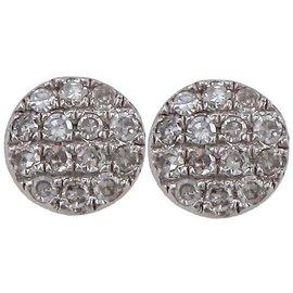 Bliss by Damiani 'Costellazione' 18K White Gold Diamond Earrings