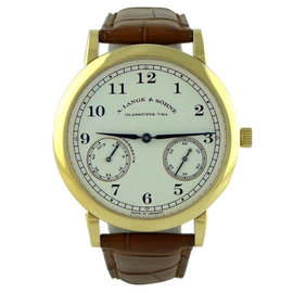 A. Lange & Sohne 1815 18K Yellow Gold 223.021 Watch
