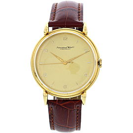 IWC Schaffhausen 18K Yellow Gold Men's Watch