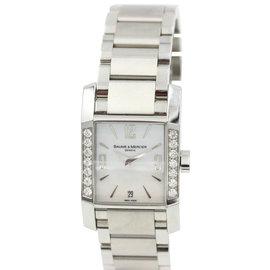 Baume & Mercier Diamant Ref. 65516 Stainless Steel Diamond Quartz Ladies Watch