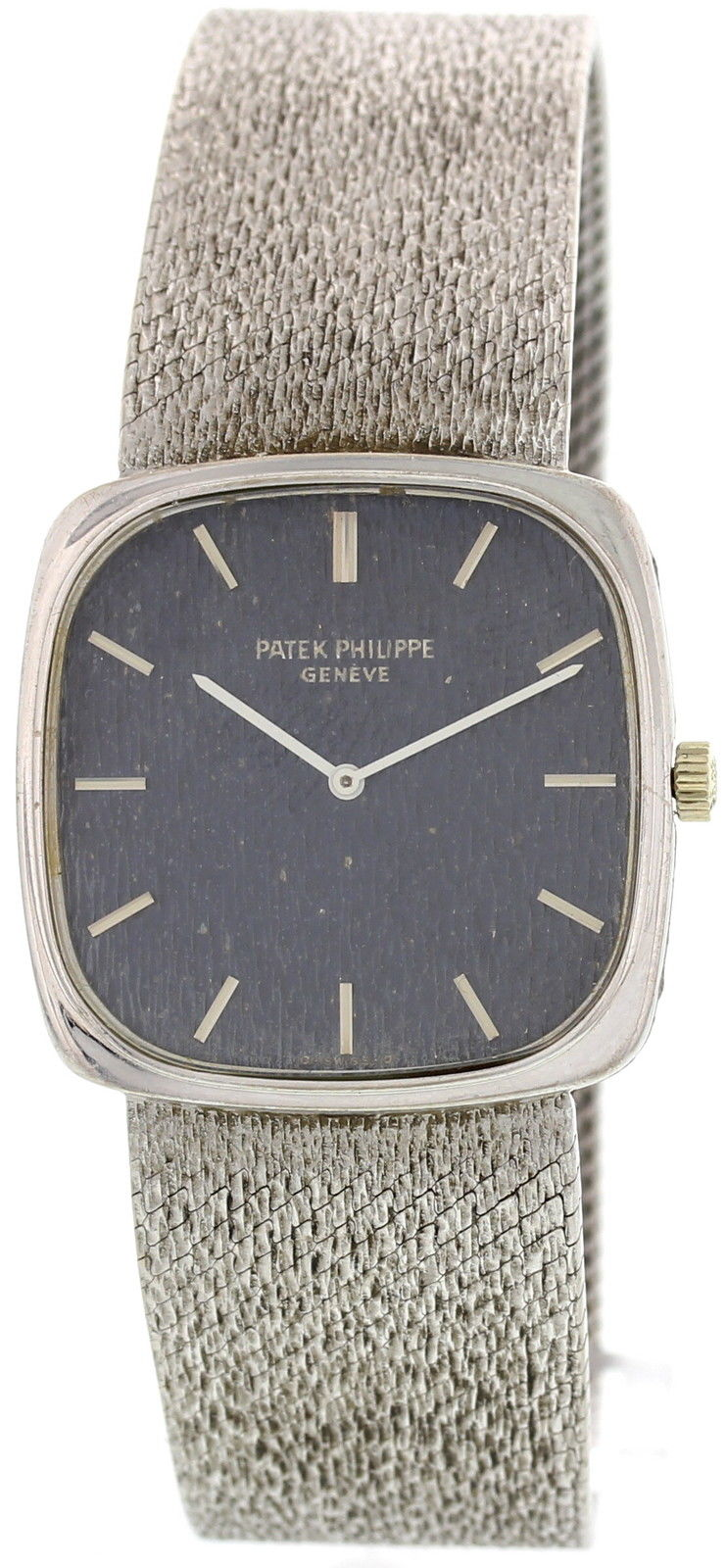 Patek Philippe Ellipse 18K White Gold Mens Watch