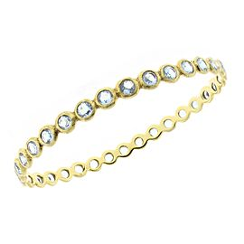 Ippolita 18k Yellow Gold Rock Candy Topaz Bangle