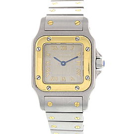 Cartier Santos 13347 Stainless Steel Womens Watch