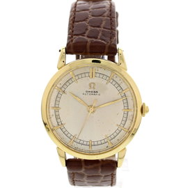 Omega Vintage 18K Yellow Gold Automatic Watch