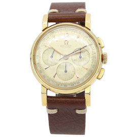 Omega 18K Yellow Gold Chronograph Cal. 321 Men's Watch
