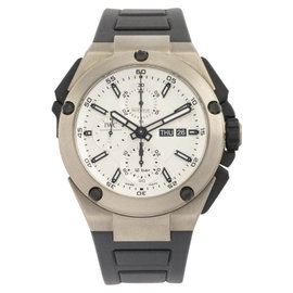 IWC Ingenieur Double Chronograph IW386501 Titanium Watch