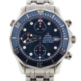 Omega Seamaster Chronograph 2225.80.00 Blue Dial Steel Automatic 42mm Watch