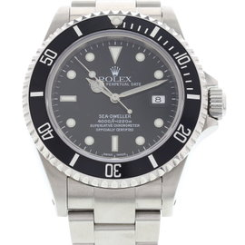 Rolex 16600 Sea-Dweller Oyster Perpetual Stainless Steel Mens Watch