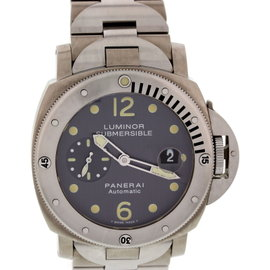 Panerai Luminor PAM106 Submersible Titanium Mens Watch