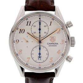 Tag Heuer Carrera Chronograph CAS2112 Stainless Steel Mens Watch