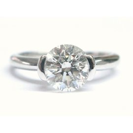 Ritani 18K White Gold & 1.77ct Diamond Solitaire Engagement Ring