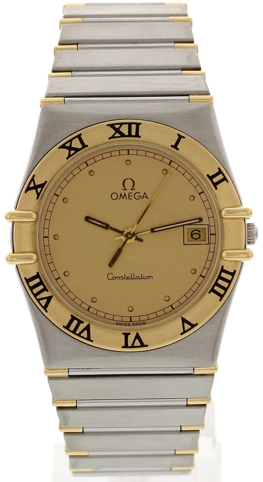 "Image of ""Omega Constellation 396.1070.1 18K Yellow Gold Stainless Steel Mens"""