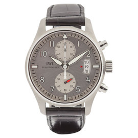 """IWC Pilot's Watch Chronograph Edition """"JU-Air"""" IW38780 Stainless Steel Mens Watch"""