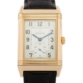 Jaeger-LeCoultre JLC Grande Reverso 976 18K Rose Gold & Leather 30mm x 48.5mm Watch
