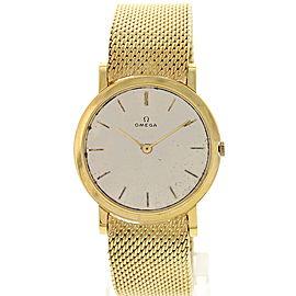 Omega 18K Yellow Gold Vintage Men's Watch
