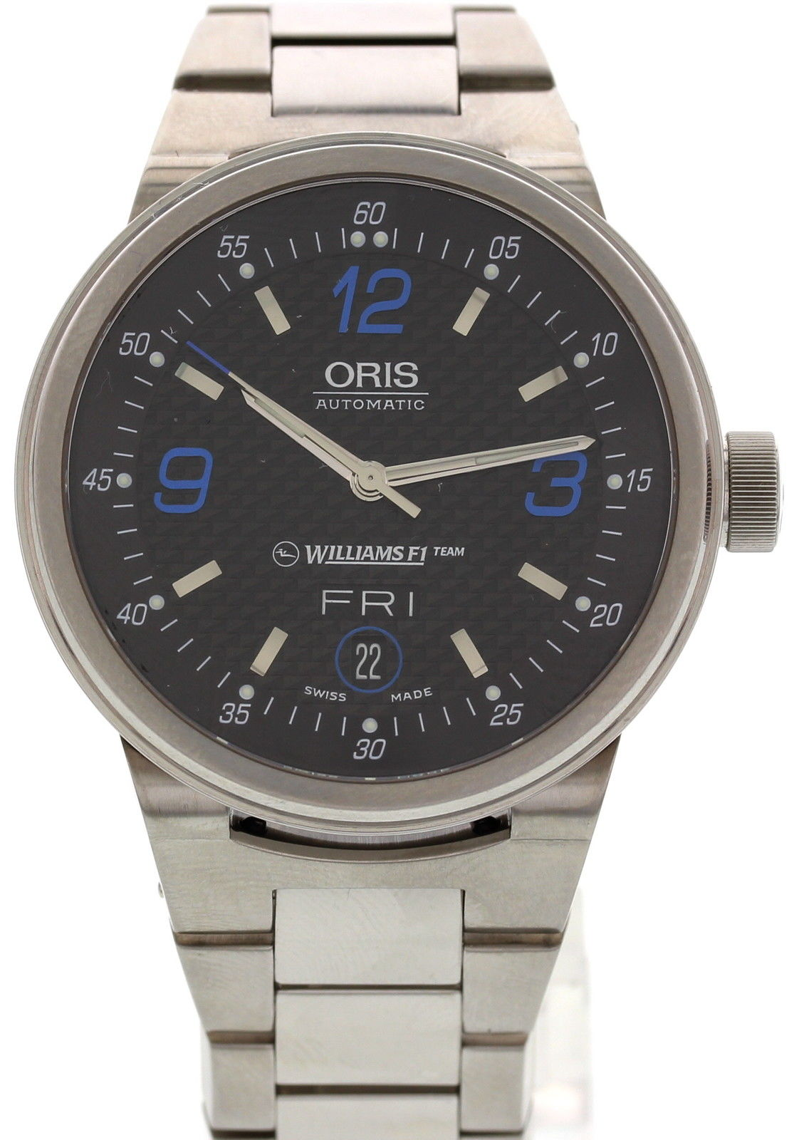 "Image of ""Oris 7560 Williams F1 Stainless Steel Mens Watch"""